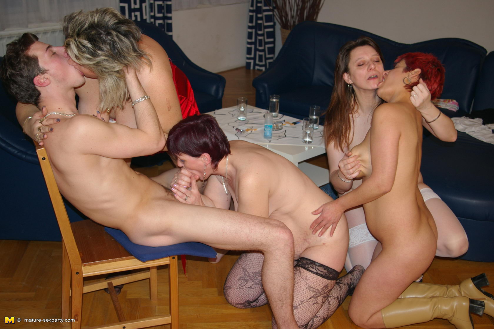 milf wild parties at home