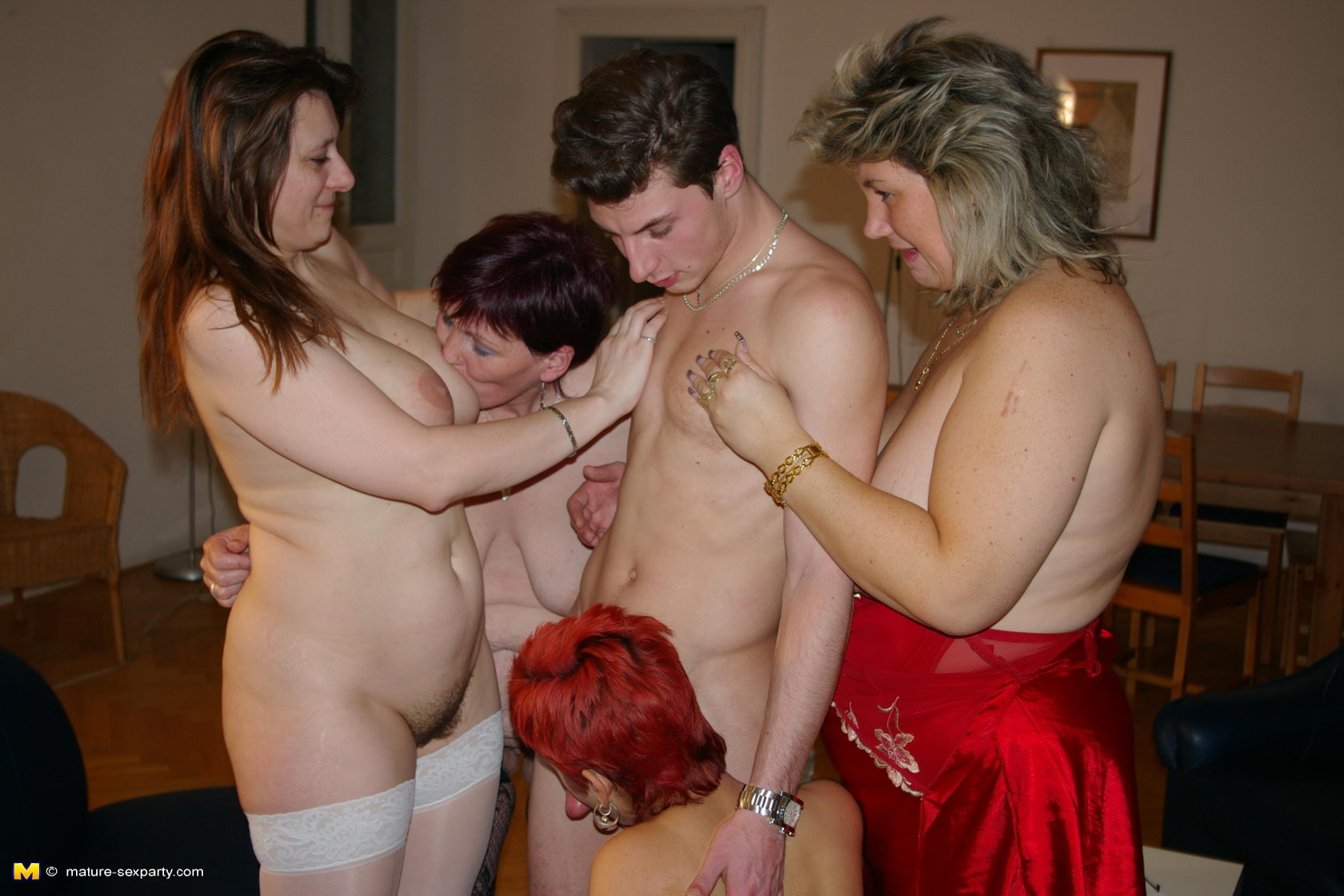 image Young sex parties from double date to double fuck