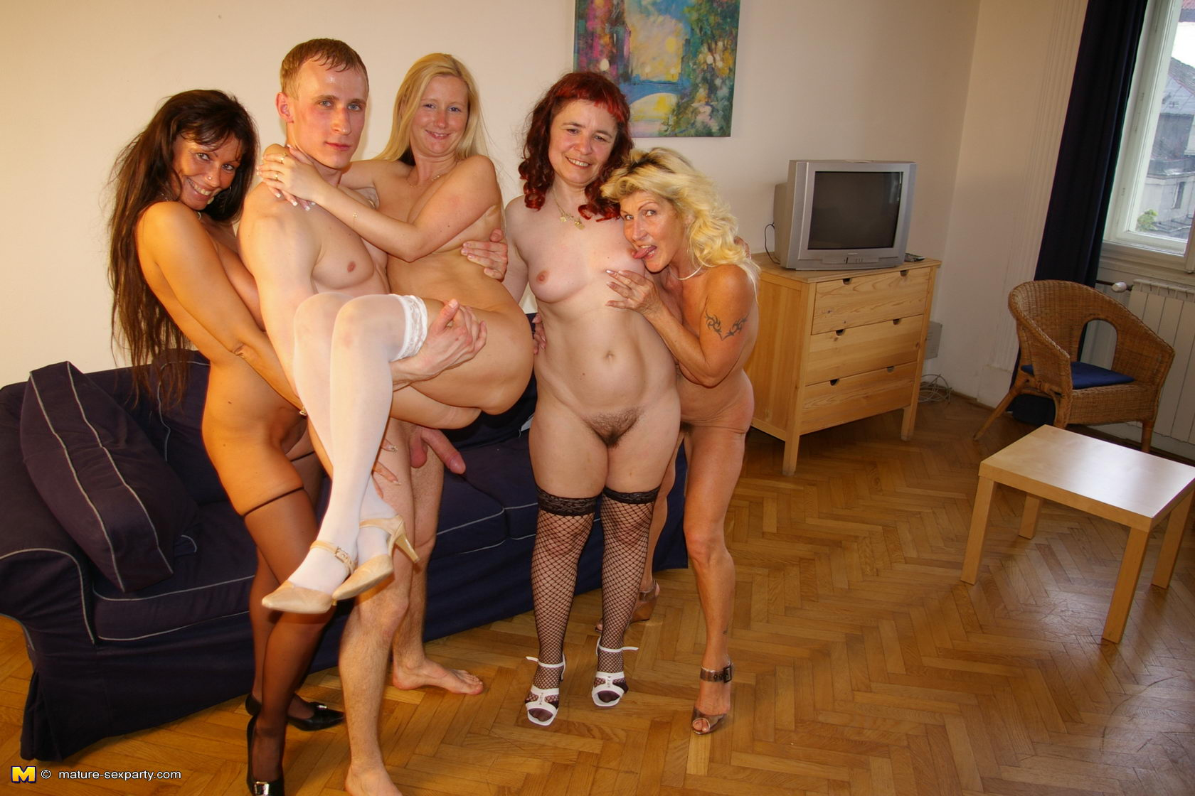 Nude couple sex party remarkable