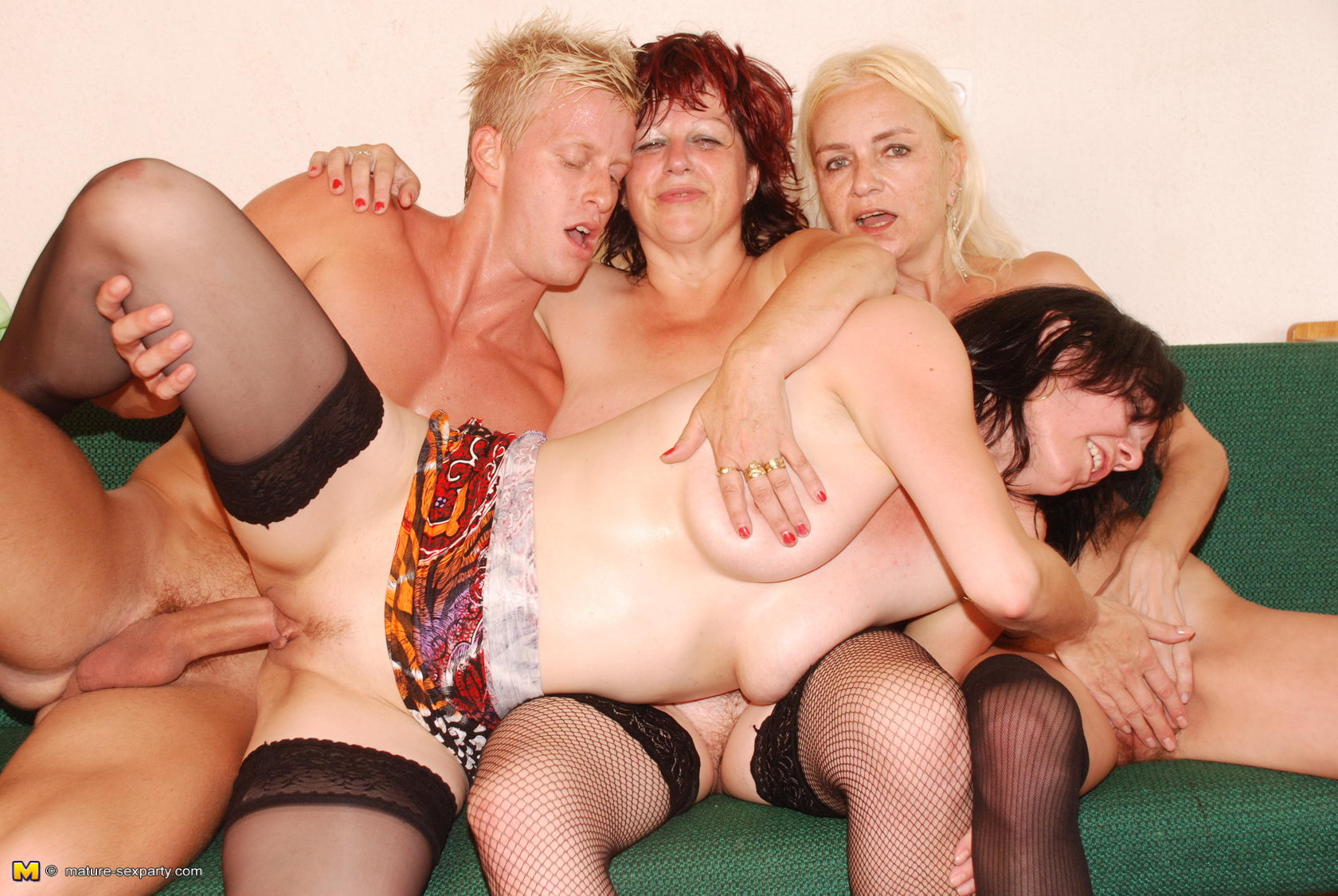 That granny orgy hot nic