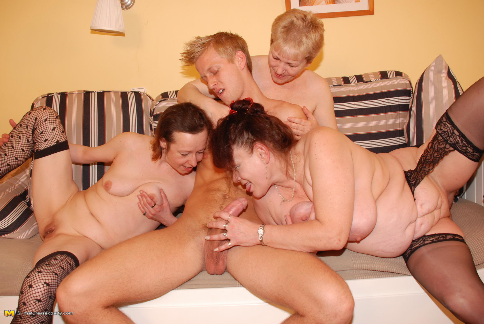 Mature Friends Having Sex