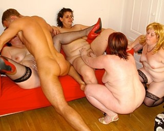 What a way to party with these mature sluts