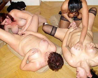 Aint no party like a mature sex party