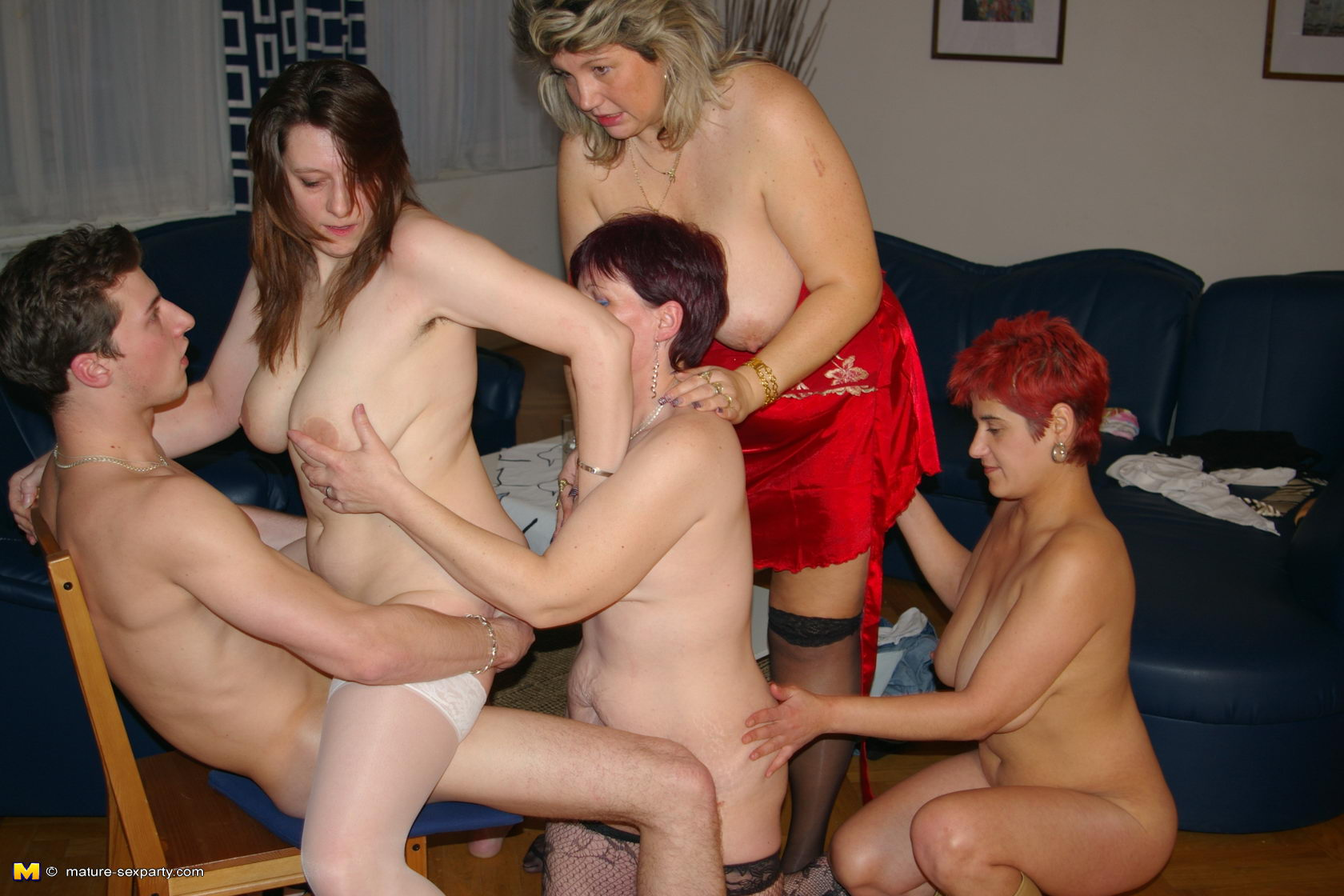 amateur wife naked party